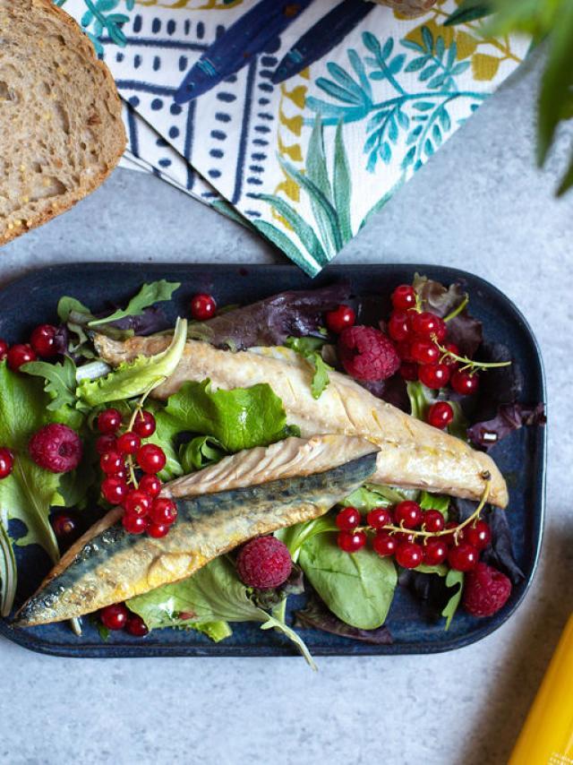 Salade De Maquereaux Aux Groseilles